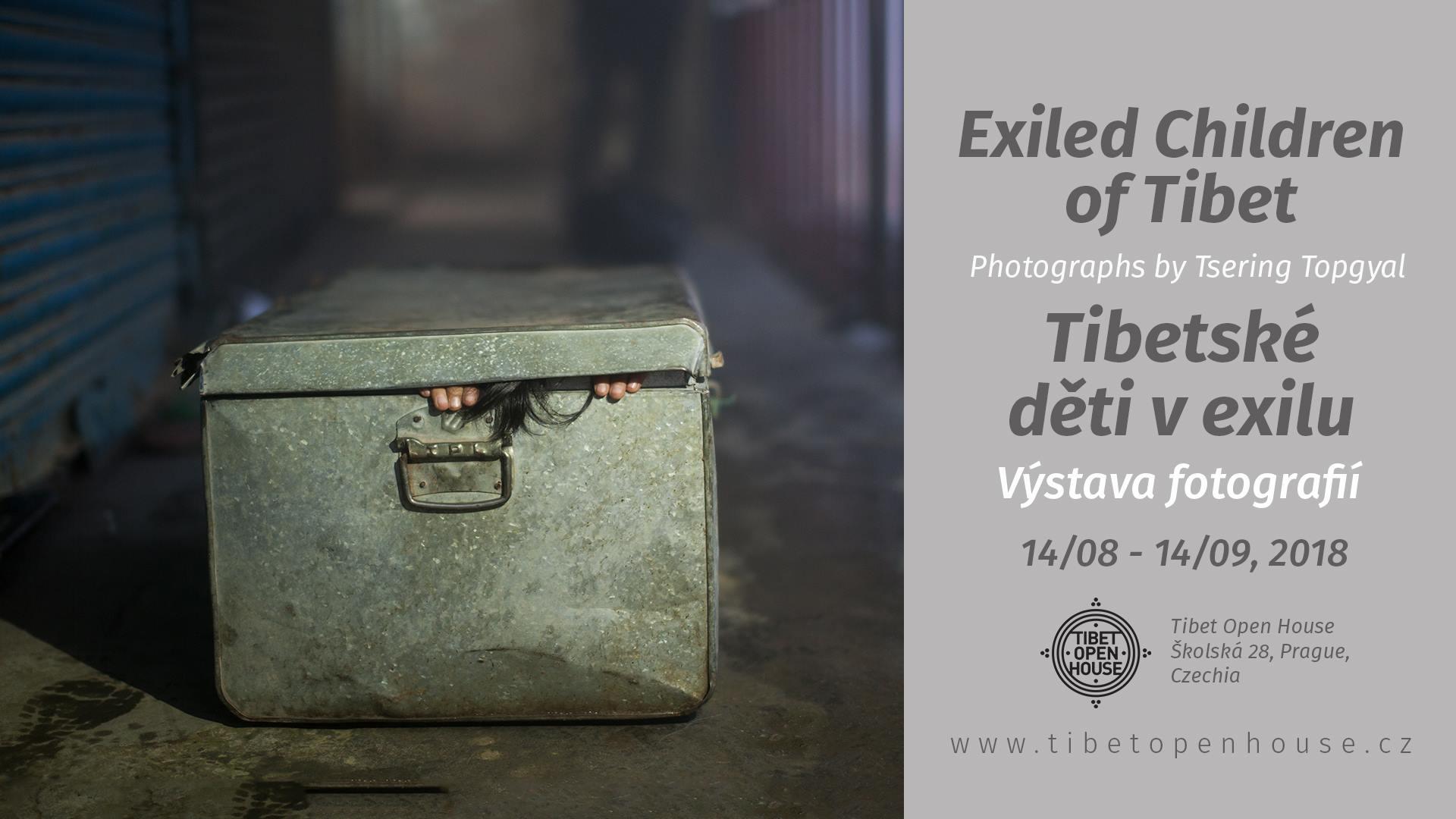 Výstava fotografií Exiled Children of Tibet vTibet Open House