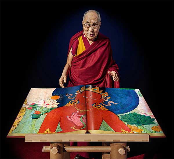 Murals of Tibet – křest knihy a oslava 83.narozenin Dalajlamy