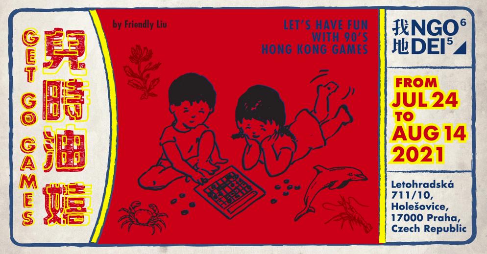 Vernisáž GET-GO GAMES, sobota 24/716:30, Letohradská 10